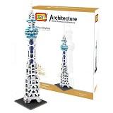 LOZ Tokyo Skytree [9366] - Building Set Architecture